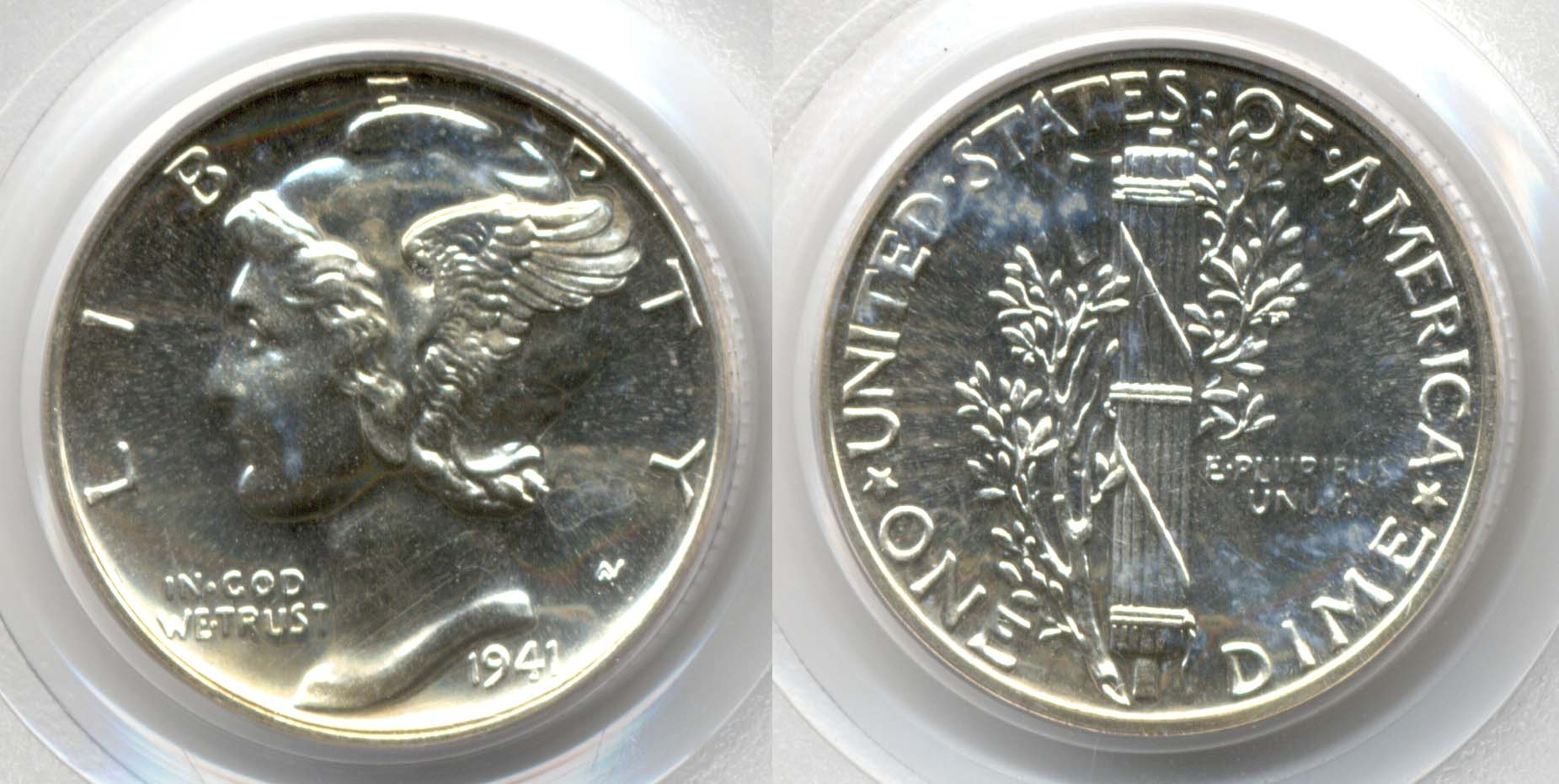 1941 Mercury Dime PCGS Proof-64