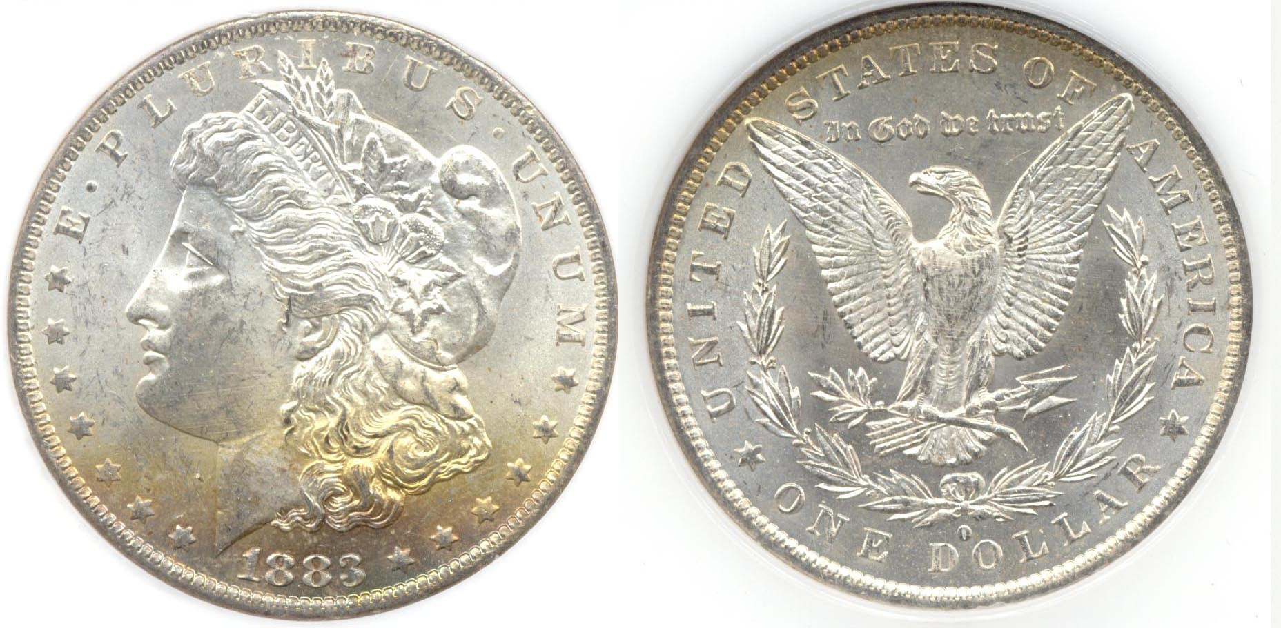 1883-O Morgan Silver Dollar PCI MS-64 i