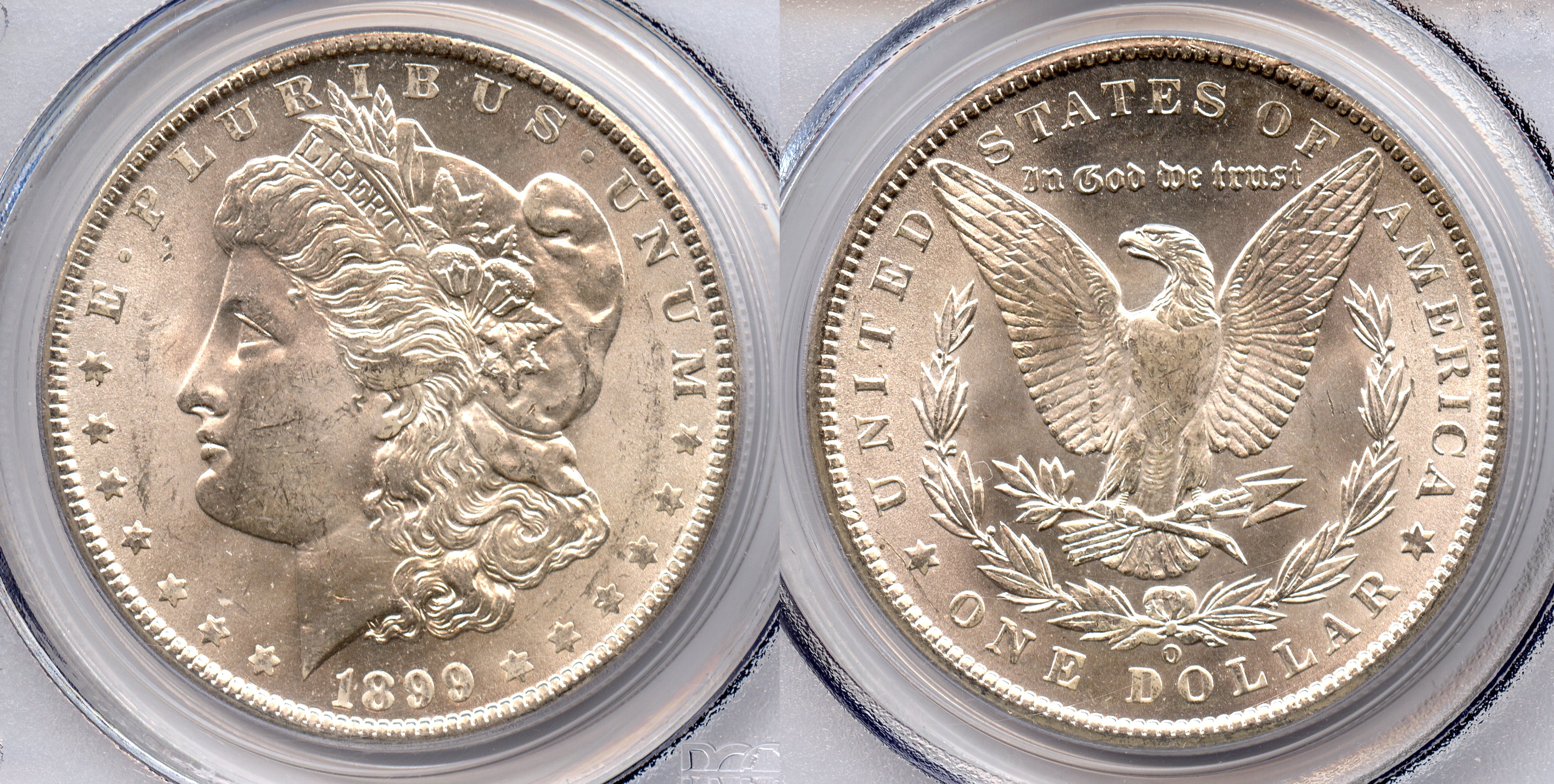 1899-O Morgan Silver Dollar PCGS MS-63