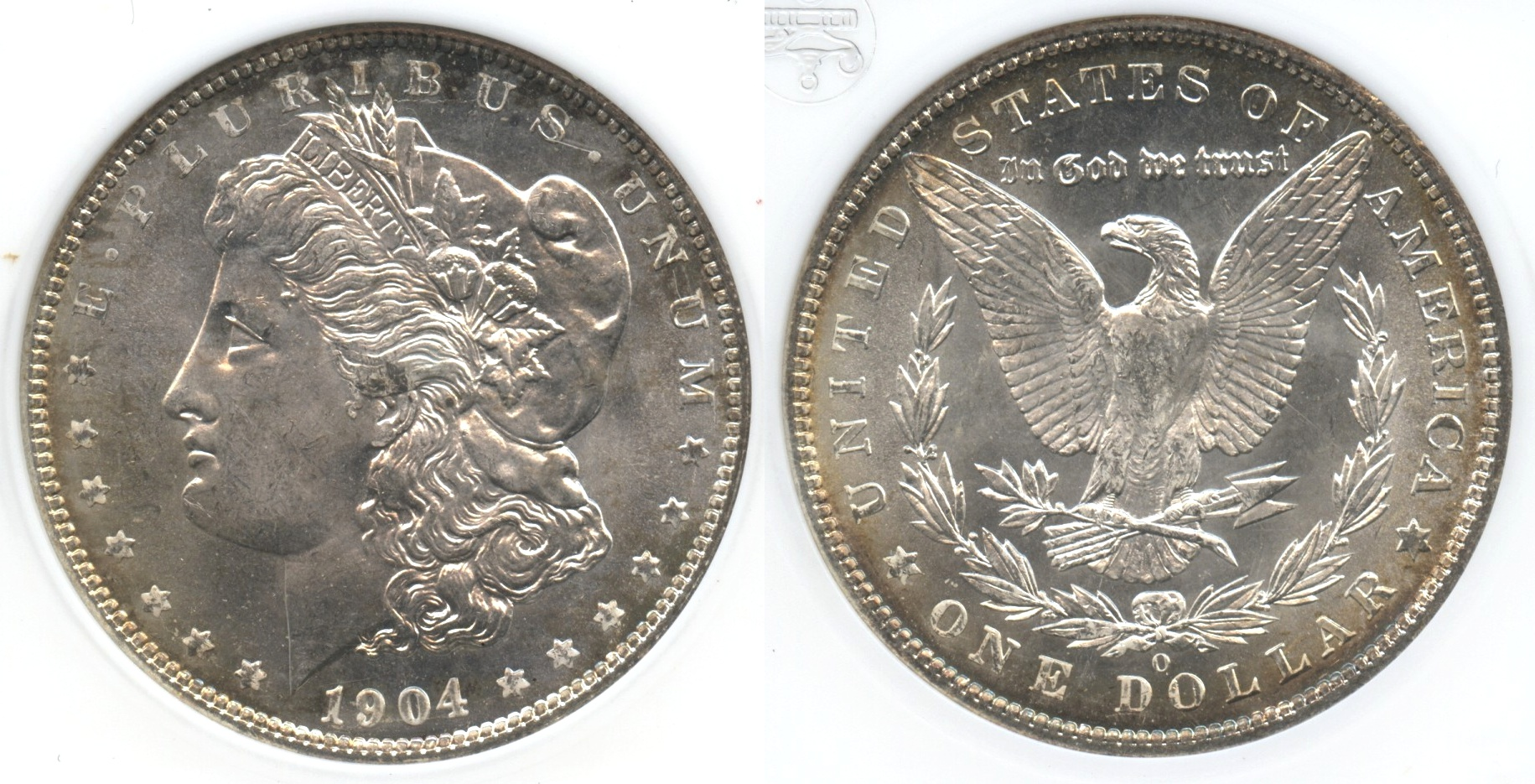 1904-O Morgan Silver Dollar ANACS MS-65