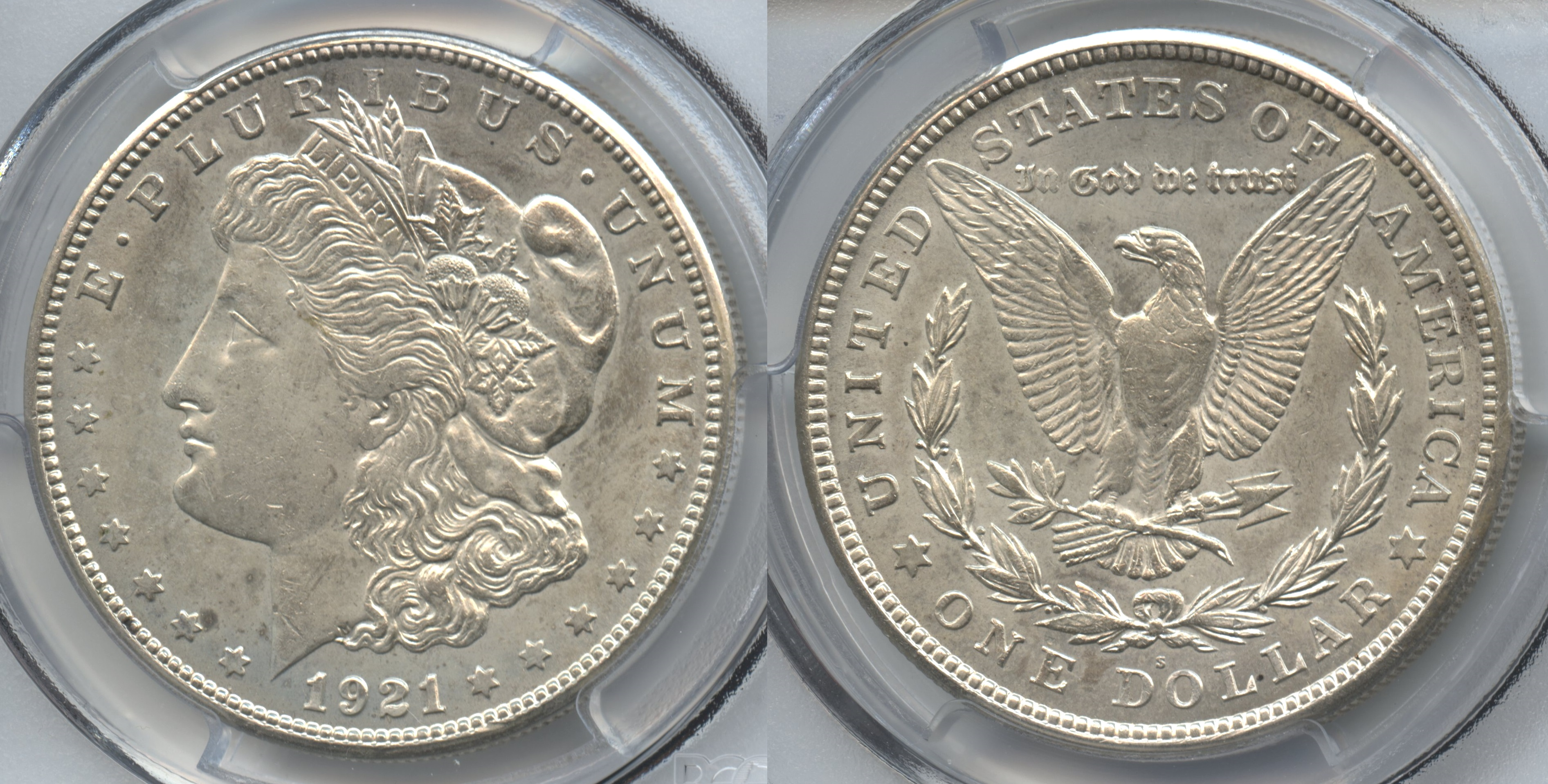 1921-S Morgan Silver Dollar PCGS MS-64