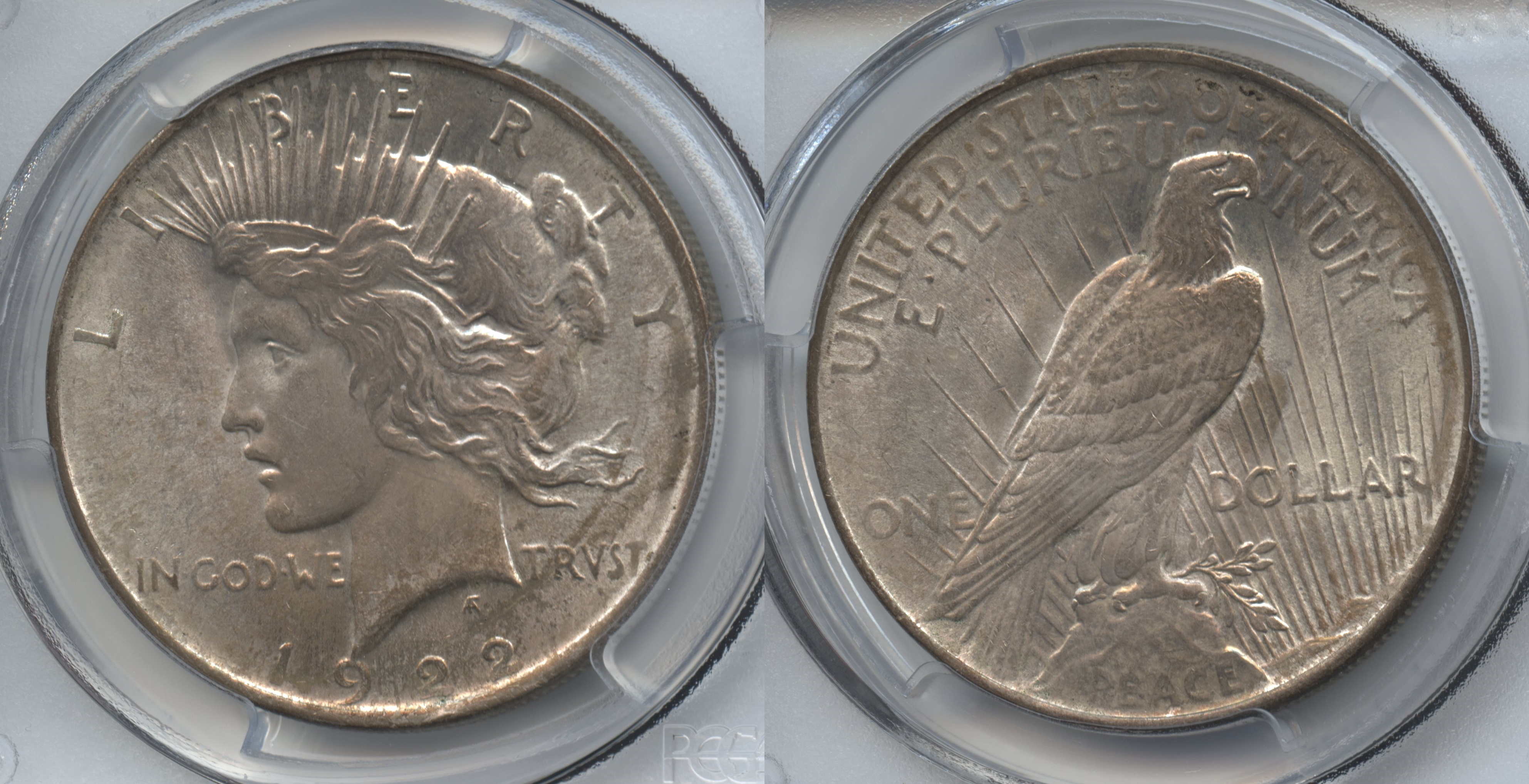 1922 Peace Silver Dollar PCGS MS-64