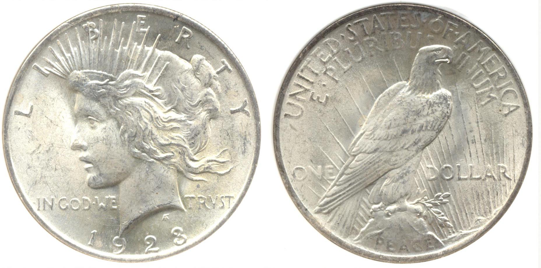 1923 Peace Silver Dollar PCI MS-64