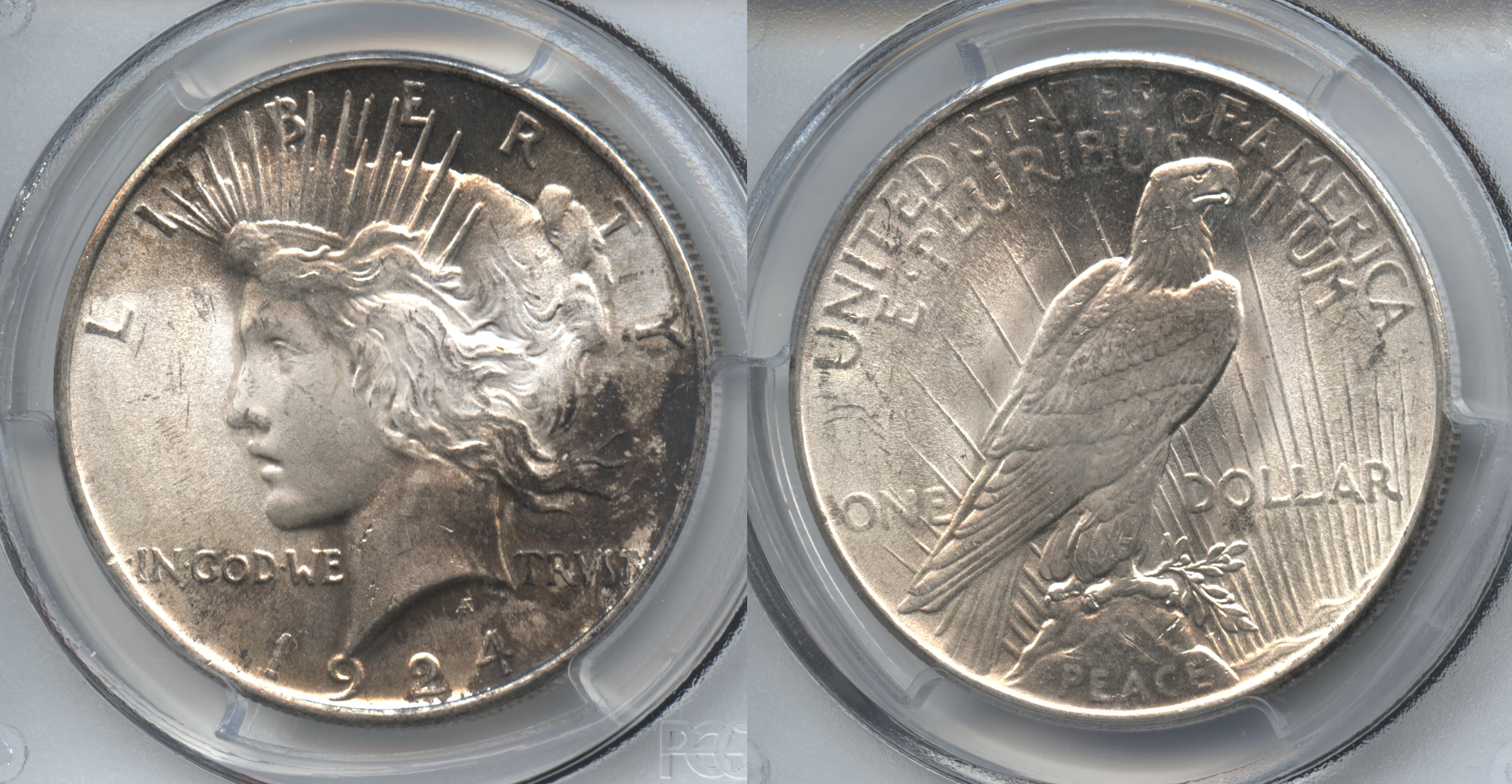 1924 Peace Silver Dollar PCGS MS-64