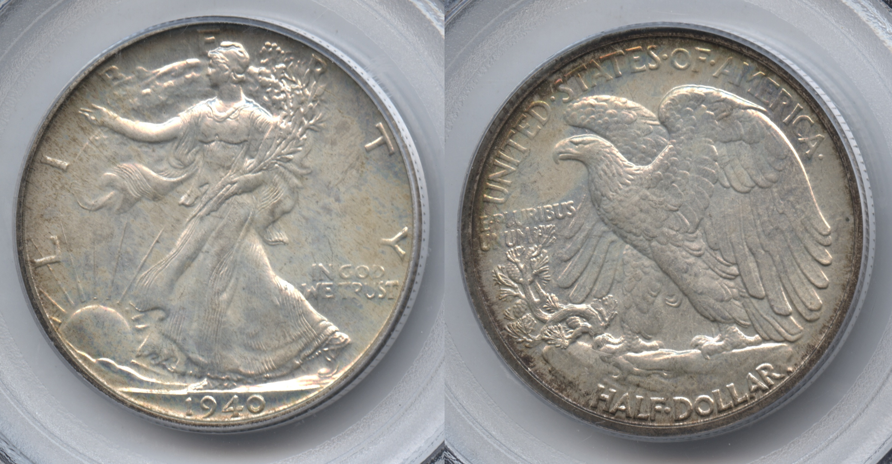 1940 Walking Liberty Half Dollar PCGS Proof-66