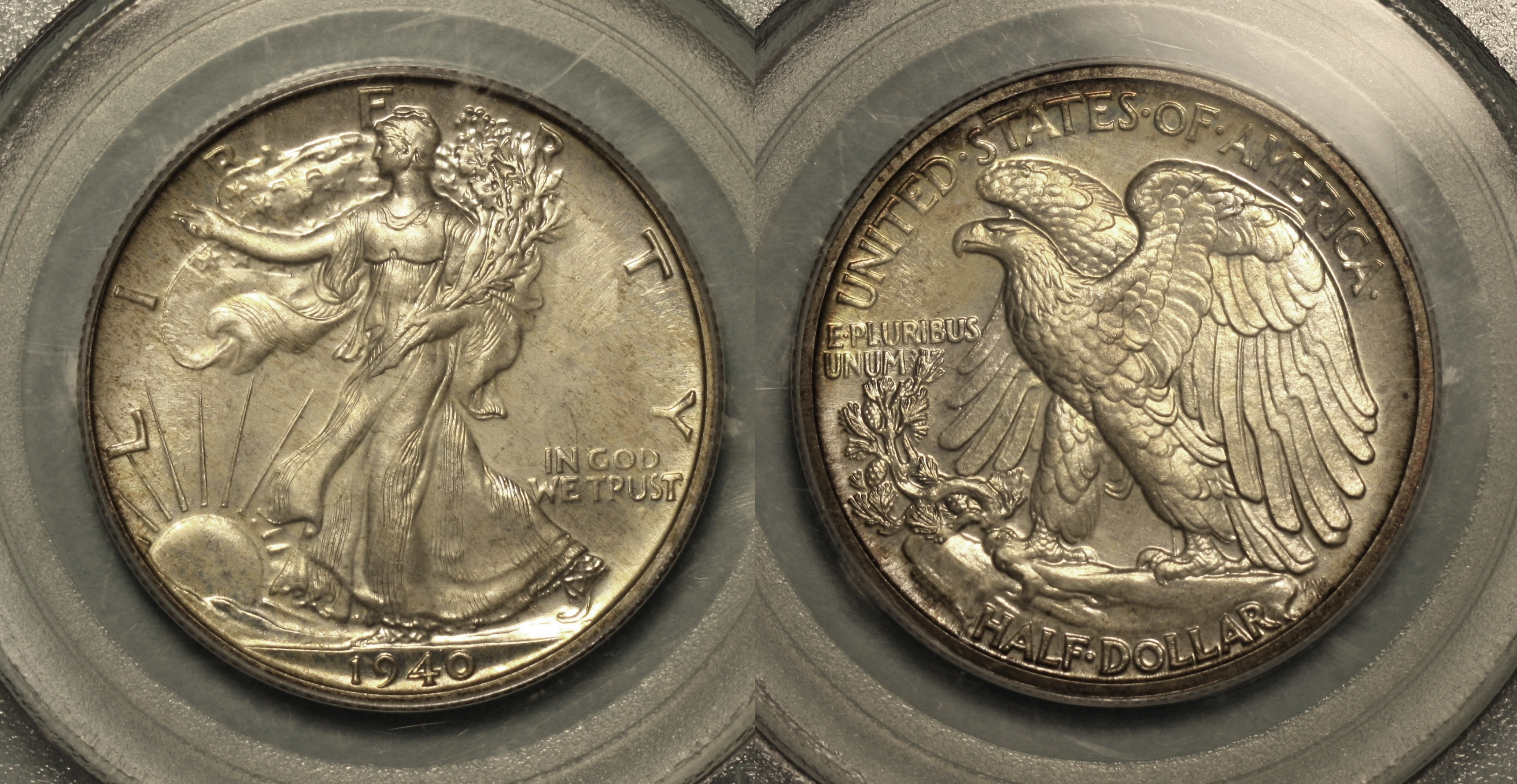 1940 Walking Liberty Half Dollar PCGS Proof-66 camera