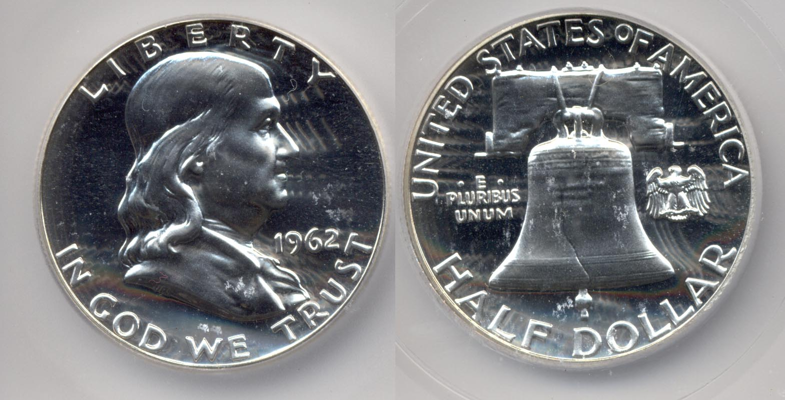 1962 Franklin Half Dollar ICG Proof-68