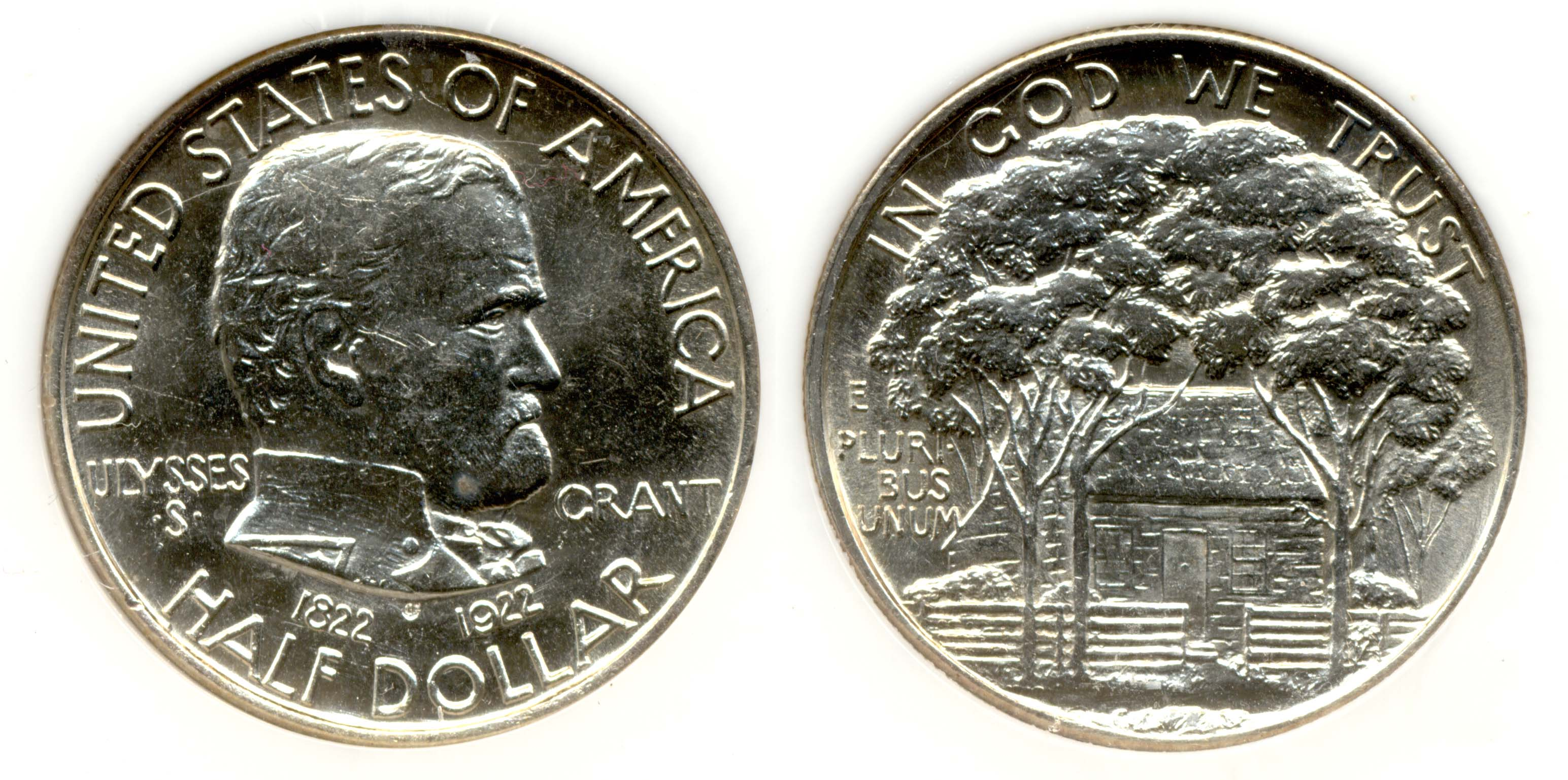1922 Grant Commemorative Half Dollar PCI MS-64