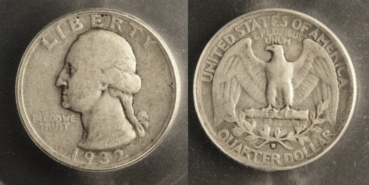 1932-D Washington Quarter ICG Fine-15 camera small