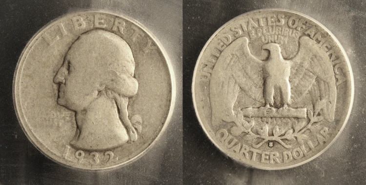 1932-S Washington Quarter ICG Good-6 #a camera small
