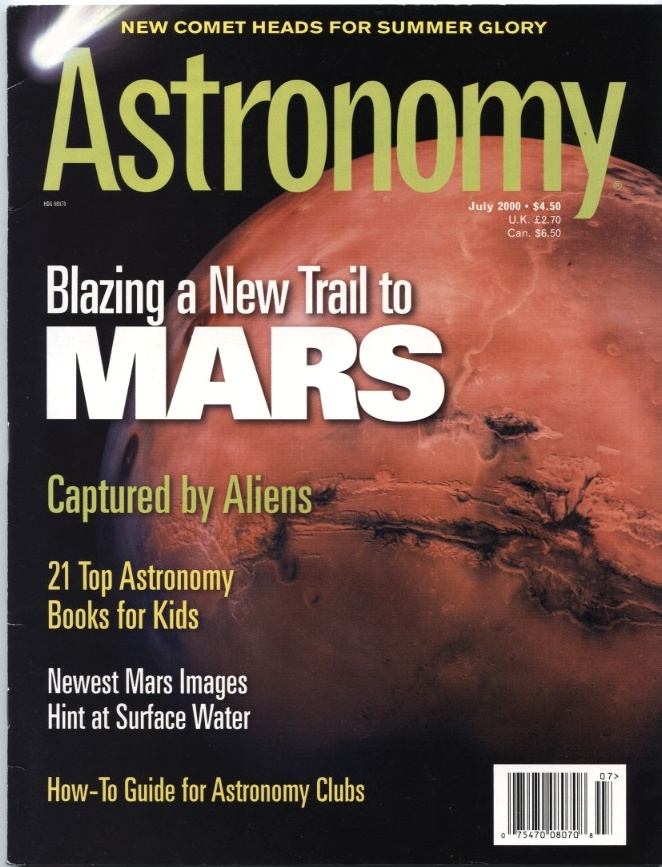 Astronomy Magazine July 2000