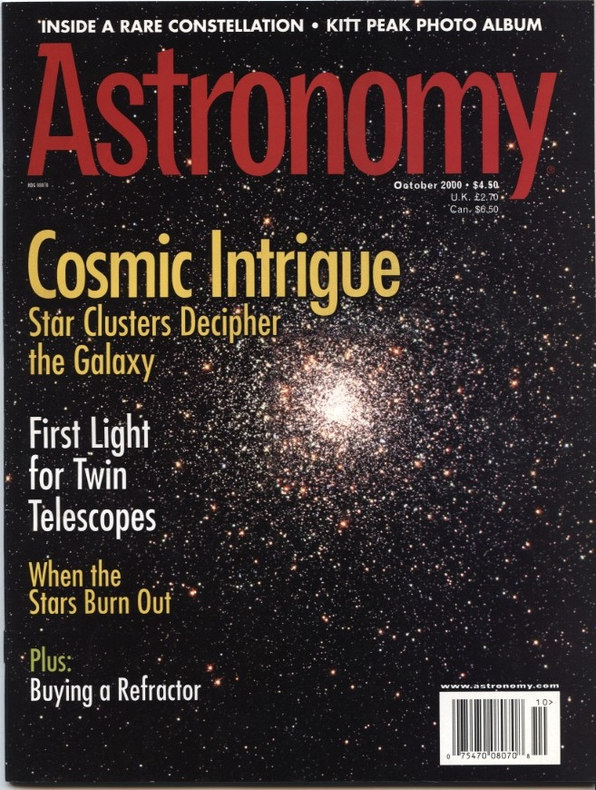 Astronomy Magazine October 2000