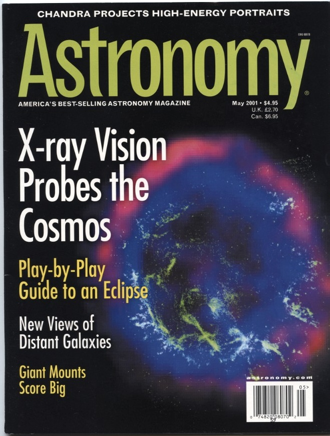 Astronomy Magazine May 2001