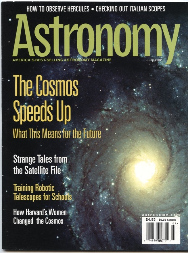 Astronomy Magazine July 2002
