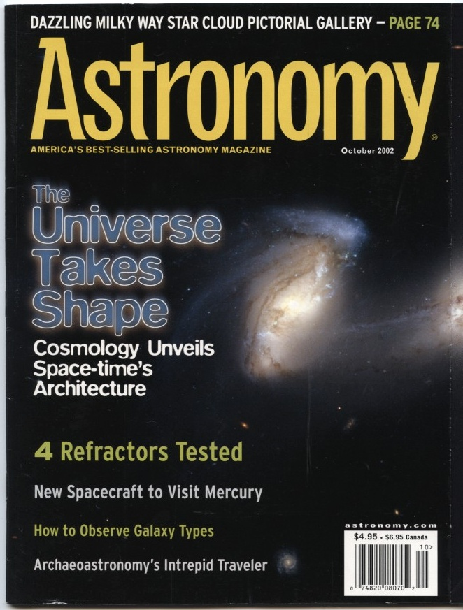 Astronomy Magazine October 2002