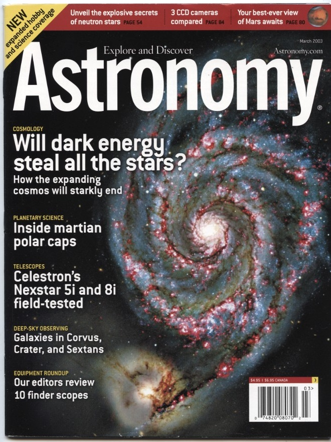 Astronomy Magazine March 2003
