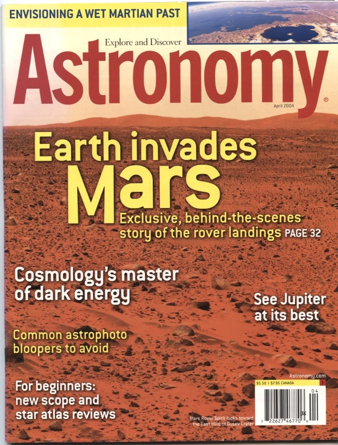 Astronomy Magazine April 2004