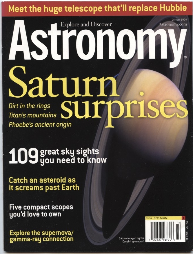 Astronomy Magazine October 2004