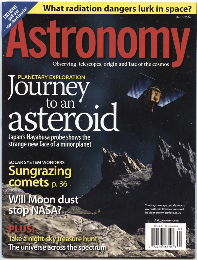 Astronomy Magazine March 2006