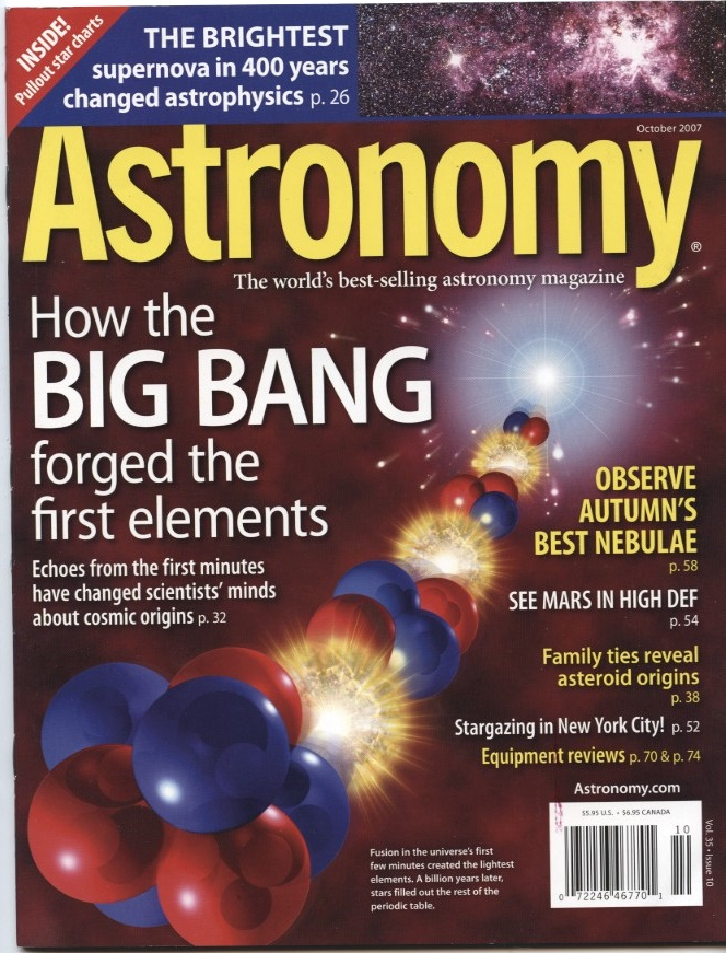 Astronomy Magazine October 2007