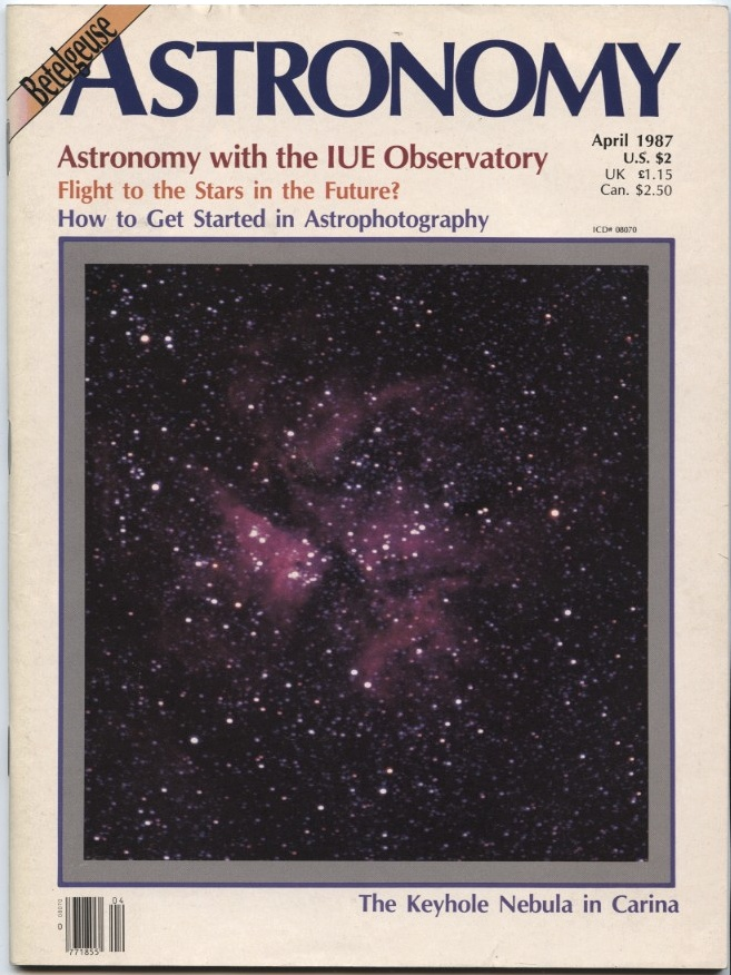 Astronomy Magazine April 1987