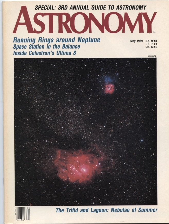 Astronomy Magazine May 1989