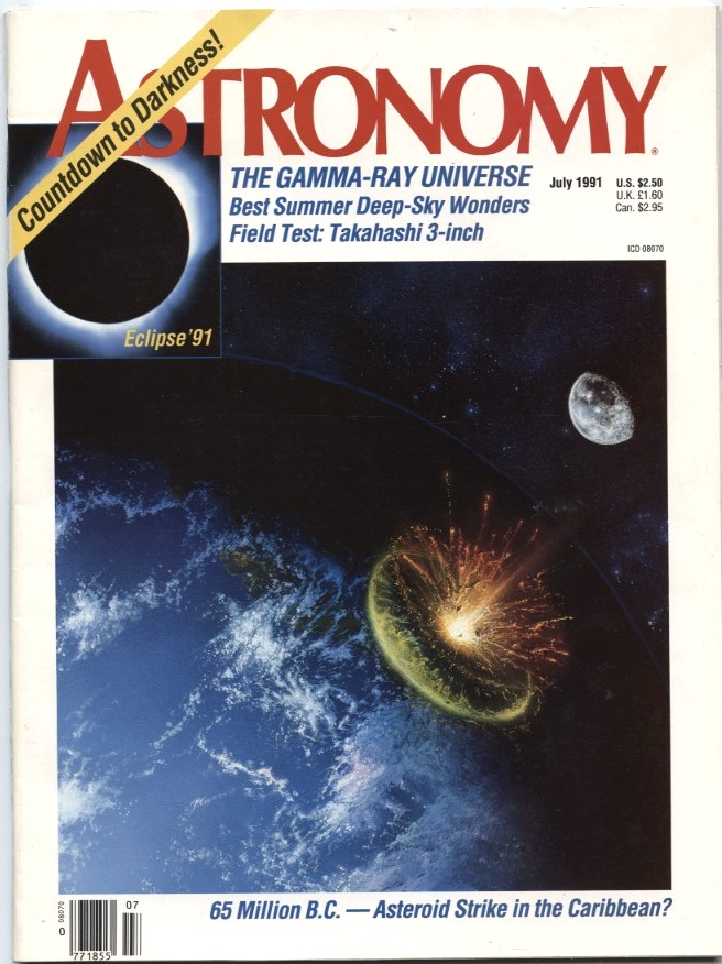 Astronomy Magazine July 1991