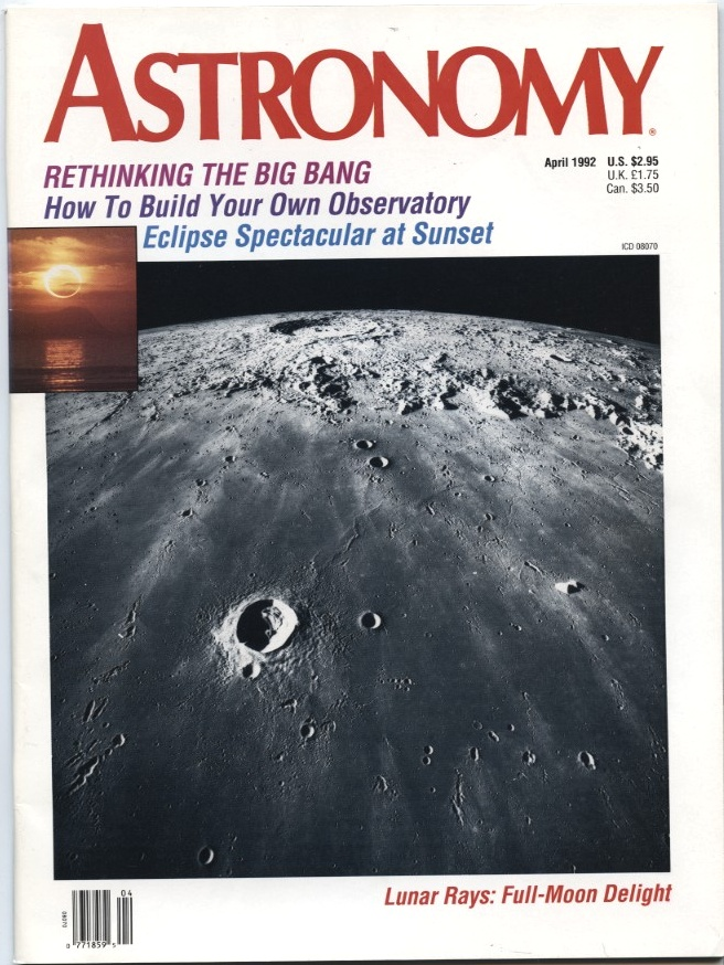 Astronomy Magazine April 1992