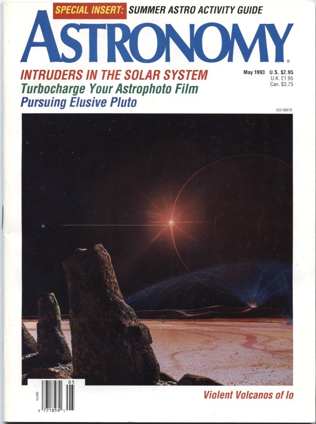Astronomy Magazine May 1993