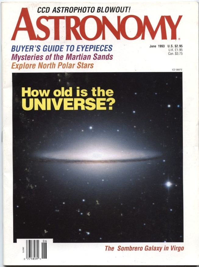 Astronomy Magazine June 1993