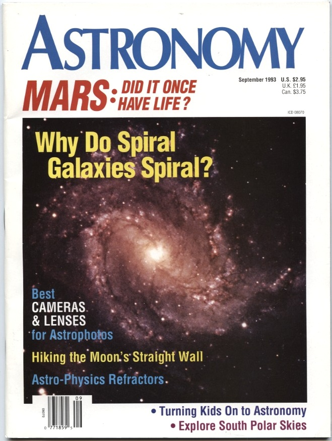 Astronomy Magazine September 1993