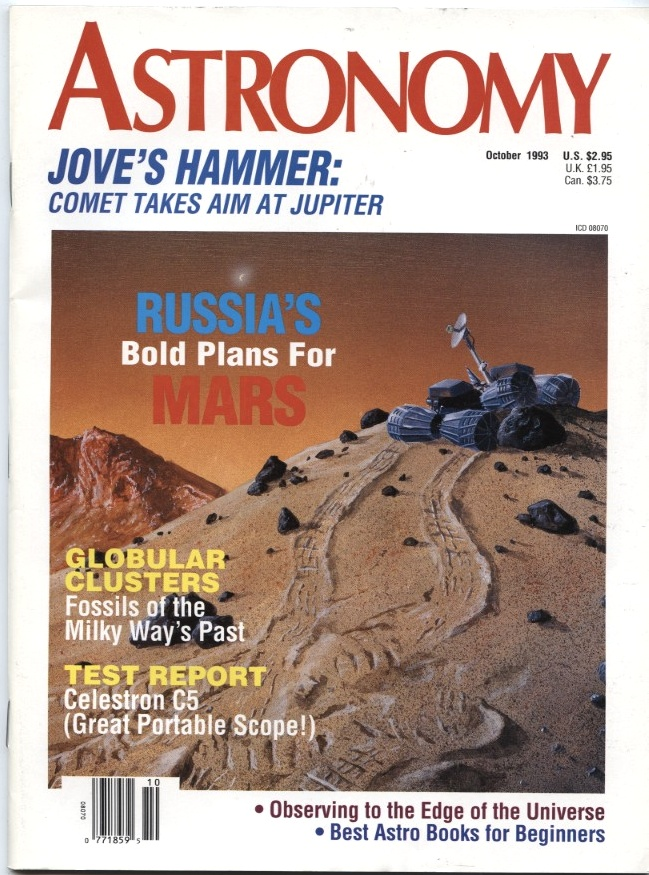 Astronomy Magazine October 1993