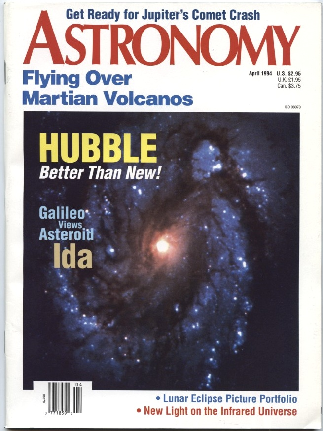 Astronomy Magazine April 1994