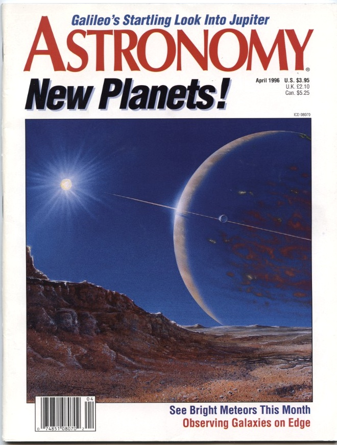 Astronomy Magazine April 1996