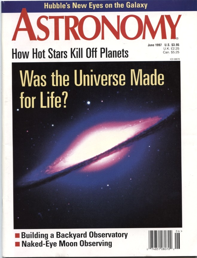 Astronomy Magazine June 1997