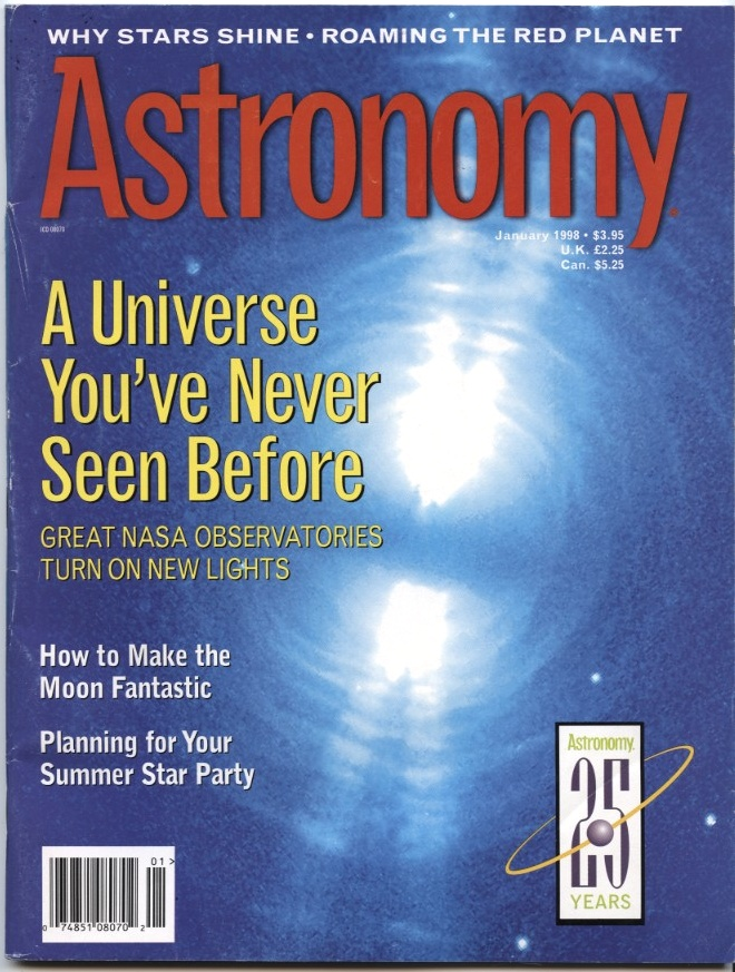 Astronomy Magazine January 1998
