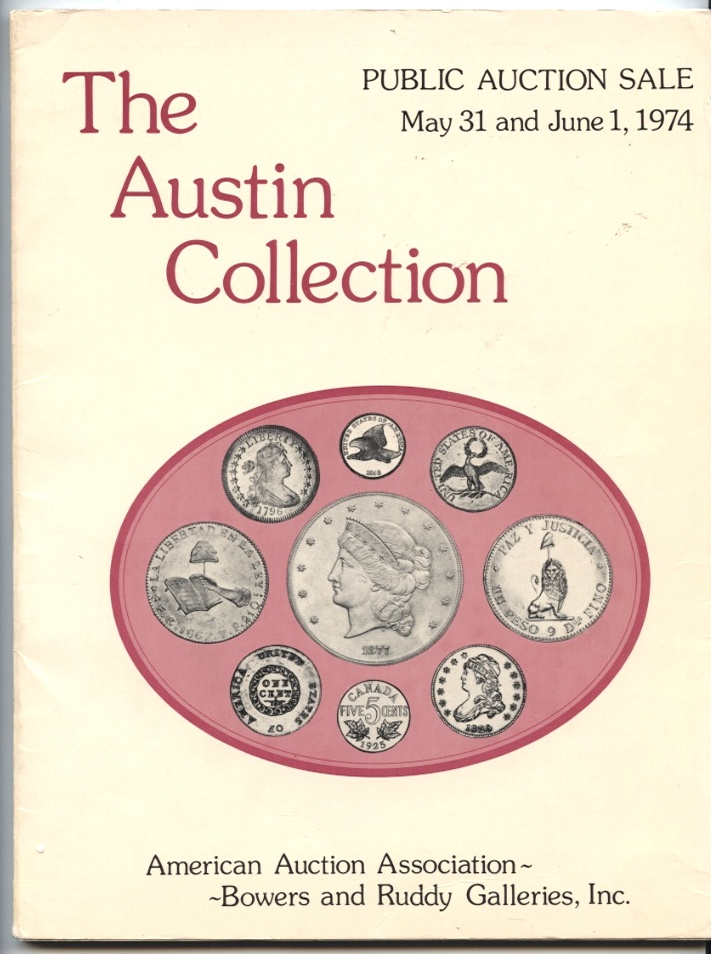 Bowers and Ruddy Galleries Austin Collection Sale May 31 June 1 1974