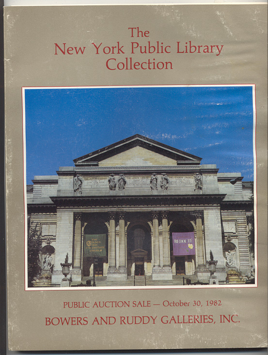 Bowers and Ruddy Galleries New York Public Library Collection October 1982