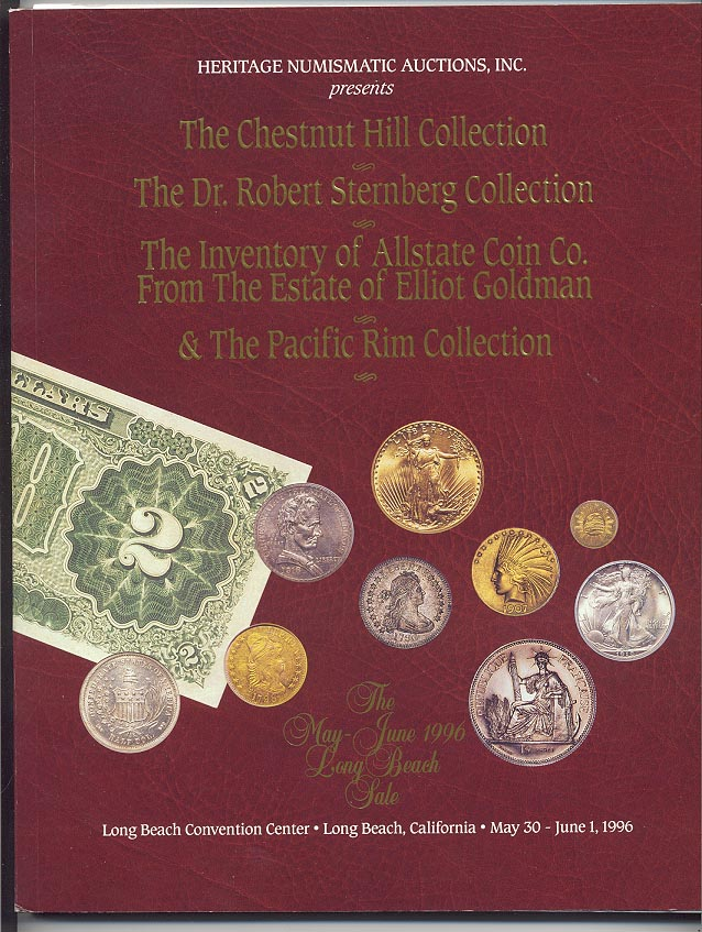 Heritage Numismatic Auctions Long Beach Sale October 1996
