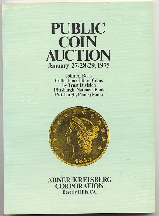 Abner Kreisberg John A Beck Sale Part 1 January 1975