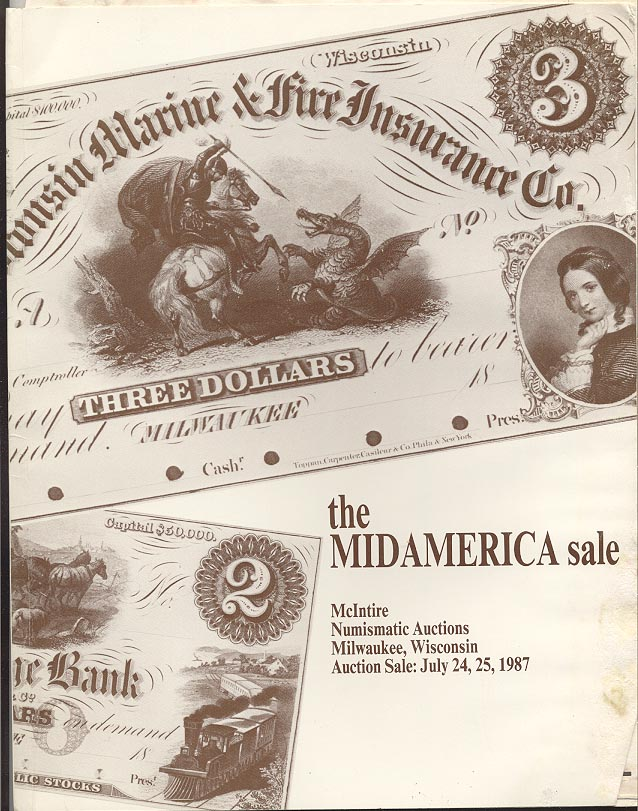 McIntire Numismatic Auctions Mid America Sale July 1985