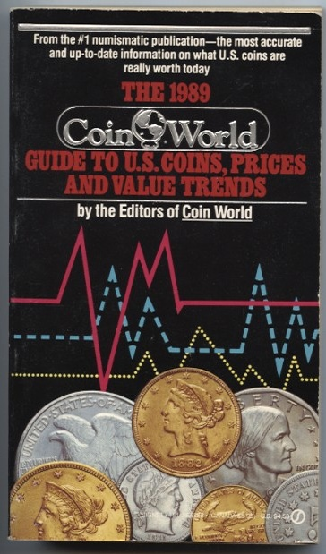 1989 Guide to U S Coins Prices and Value Trends Coin World #a