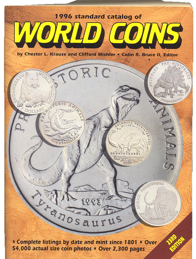 1996 Standard Catalog of World Coins by Chester Krause and Clifford Mishler