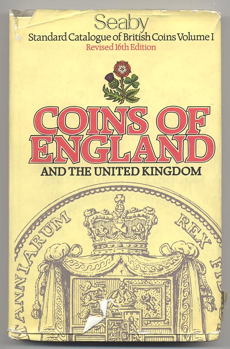 Coins Of England And The United Kingdom 16th Edition by Seaby