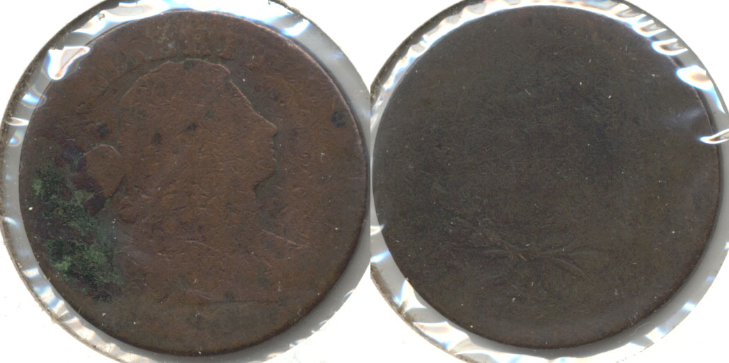 1803 Draped Bust Large Cent Filler