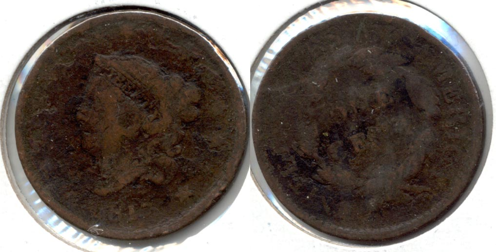 1817 Coronet Large Cent Fair-2