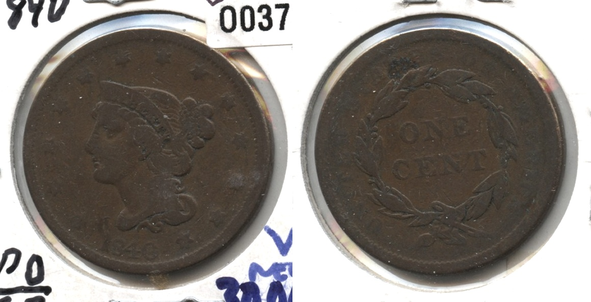 1840 Large Date Large Cent Good-4