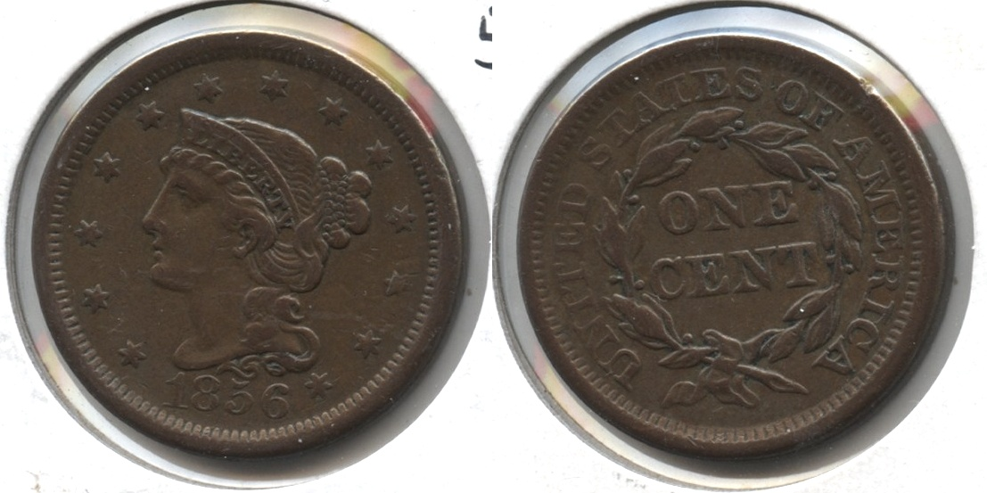 1856 Coronet Large Cent EF-40 #c
