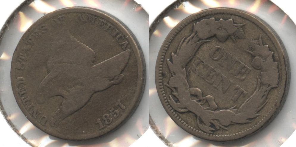 1857 Flying Eagle Cent Good-4 #an