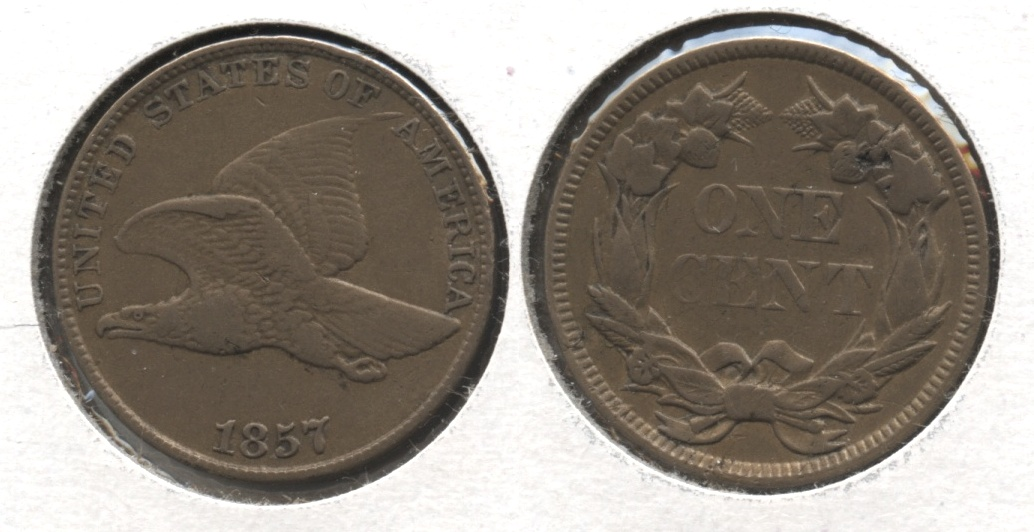 1857 Flying Eagle Cent VF-20 #s